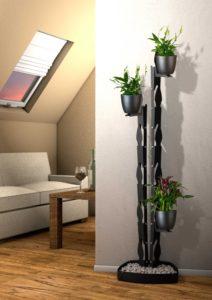 presentyourplants Pflanzenständer Blumenständer kleine Wohnung Wohnzimmer Zimmerpflanzen Dachschräge
